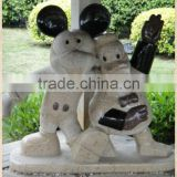 Micky mouse and duck statues smiling cartoon sculptures disney star                                                                         Quality Choice