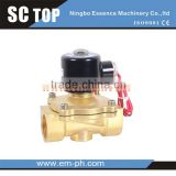 2Position 2 way solenoid valve Fluid Control valve air ,oil ,WATER GAS solnoid valve 3/8 plastic solenoid valve Fluid C                                                                         Quality Choice
