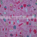 school bags fabric pvc coating printed carton backing schoolbag fabric