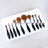2016 NEW Stylish Cosmetic Toothbrush foudation makeup brush sets beauty makeup oval facial powder brushes premium quality sets