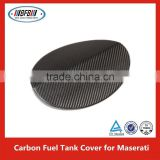 Carbon Fiber Fuel Tank Cover Gas Cover For MASERATI Quattroporte