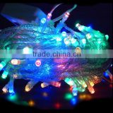 Widely used colorful outdoor led light,wedding table tree centerpieces led decoration light string,holiday led decoration light