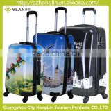 ABS+PC flowers design luggage telescopic handle