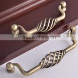 European&American Rural style Knobs Iron Antique Bronze New Classical birdcage Handle Furniture Closet Cabinet Pulls