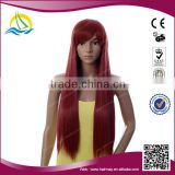 Quality guaranteed High Temperature Fiber ladies short hair wig
