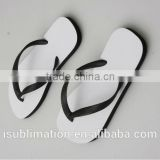 Sublimation blank flip flop black color, different color