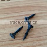 China high quality cross flat head black phosphate bugle head self drilling drywall screw