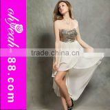 Latest design new fashion young ladies sexy model dress party wear in 2014
