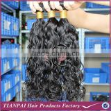 Loop and lock hair extensions, deep wavy hair weave, heat resistant synthetic fiber hair weave
