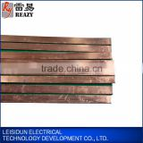 2015 GuangZhou pvc standard copper clad steel flat bar sizes , perforated brass flat bar