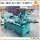 Coal dust briquette extruding machine / coal dust extruder machine / silver bar charcoal machine