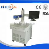 FLDJ 20W fiber laser marker | 20W 30W fiber laser printer machine/Plastic metals laser marker for sale