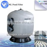 Commercial swimming pool aqua sand filter / large pool filters