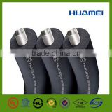 flex pipe black roll plastic pipe acoustic insulation rubber foam inflatable rubber tube