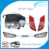 china aftermarket auto parts accessories HJ-019 higer bus body parts