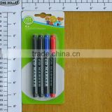 4pc fashion and colorful CD/DVD permanent marker pens