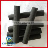 Finger stick hardwood charcoal for incense burning