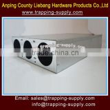 Galvanized Rodent Mouse Bait Station Rat Bait Box Mice Posion Box China Supplier