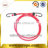 Single metal hook high strength bungee cord Polyester rope