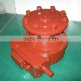 Final drive gearbox for pivot irrigation system