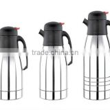 1000ml 1200ml 1500ml 18/8 food grade stainless steel air coffee pot