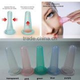 Cup Facial Transparent Silicone Chinese Cupping Therapy Set Silicone Facial Cup