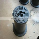 ductile iron casting water meter surface box, valve box