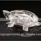 Best-selling white glass turtle figurine gift special islamic glass gift/good indian wedding gift