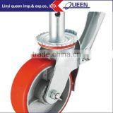 Wheel with Adjustable Jack for Aluminium Towers