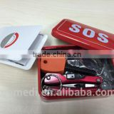 Topmedi portable survival kit outdoor emergency SOS kit