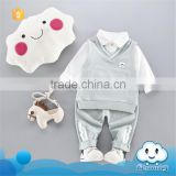 AS-407B children garment baby stylish frock kids clothing wear china uniform style baby clothing sets