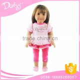 Bulk wholesale kids 18 inch american one reborn baby doll kits clothing