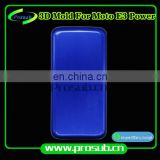 3D heat transfer smartphone cover aluminum injection mould for Prosub-moto E3 power
