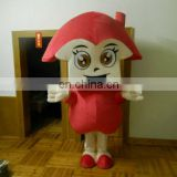 Human girl mascot costume for promotion