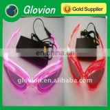 Best seller fashion safety el flashing glasses