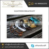 Get Good Deal on Multicolour Fashion Leather Bracelet for Girls by Trusted Company