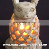 Soapstone Candle Lamp