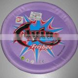 Large size frisbee with plastic edge