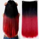 Bright Color 10inch Synthetic Hair Grade 8A Extensions No Damage Straight Wave
