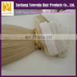 Factory whoelsale indian remy tape hair extensions for new year