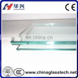 CE heat insulation tempered glass for clear glass bathtub