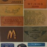 Garment Leather Pu Label Patches