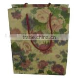 Fashional Paper Shopping Bags with rope handles