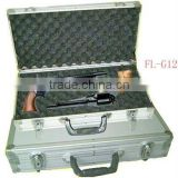 double-sided board aluminum alloy aluminum rifle case with tools,carry gun case wholesale