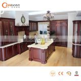 Hot Selling Classical Wooden Kitchen Cabinet with dish rack Design,display kitchen cabinets for sale
