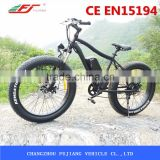 FJ-TDE07, 1000w fat tire electric bike cruiser