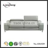 China popular leather electric recliner sofa set