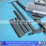 100x10x3mm solid carbide sintered bar 6% cobalt tungsten carbide flat from Zhuzhou Kerui
