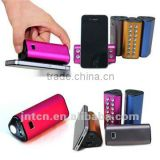 6600mAh Universal Portable Rechargeable Backup Power Bank for mobile phone/digital camera/PDA/ PSP/MP3/MP4/iPod/DV