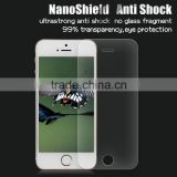 High-quality nano screen protector for iphone 5 SE 6-7H hardness anti shock shield shatter resistant